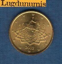 Italie 2002 - 50 centimes d'Euro - Pièce neuve de rouleau - Italia