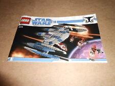 Vintage LEGO Instruction Manual Star Wars 8016