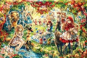 Aim for a 1000 piece jigsaw puzzle Forest fairy tale 50x75cm EPOCH