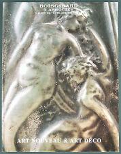 CATALOGUE VENTE ENCHERES - BOISGIRARD - ART NOUVEAU & ART DECO - Leleu Vautrin..
