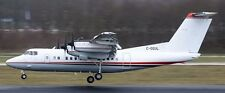DHC-7-102 Dash 7 Voyageur Airways DHC7 Aircraft Wood Model Replica Free Shipping