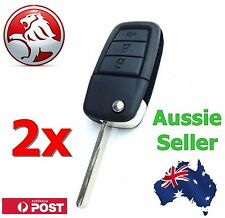 2 X Holden Ve Commodore Flip Key Shell Compatible With Berlina Calais SS Sv6