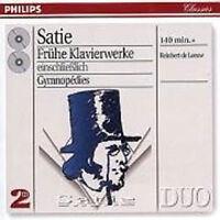 Satie - Pno Wrks (Early )/ De Leeuw Pm2 Nuevo CD