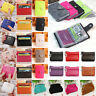 Women Men Slim Small Mini Wallet Credit BUS ID Card Holder Case Clutch Purse Bag