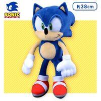 "Sonic The Hedgehog - BIG Soft Toy Plush Sonic 15"" 38cm (SEGA) Limited Edition"