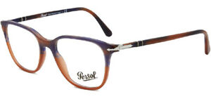 Persol Men's Italian Handcrafted Striped Gradient Eyeglass Frames - PO3203V 51