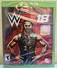 WWE 2K18 (Microsoft Xbox One, 2018, WW2K18) Brand NEW!