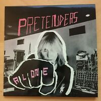 THE PRETENDERS Alone UK numbered 12-trk promo CD Chrissie Hynde Dan Auerbach