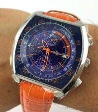 WATCH CHRONOSTAR DESIGN SECTOR chrono WATCH OVERSIZE 45MM movement OS10 NOS