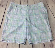 Callaway Opti-Dri Women's Plaid Golf Shorts 32W (Measured) Preowned