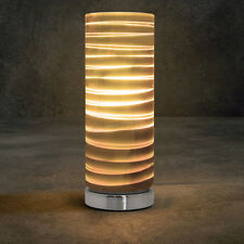 3D Effect GLASS TABLE LAMP Bedroom Party Restaurant Reception Gift Desk Lamp 003