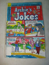 Archies Jokes #459 Original Cover Art Color Guide/Painting, 1970'S, Bikini Pool