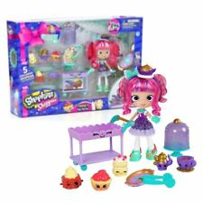 New Shopkins Shoppies Tippy's Tea Party Playset & Figures Official