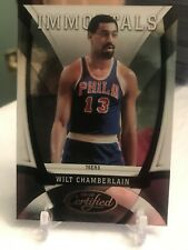 2009-10 Certified Warriors Basketball Card #168 Wilt Chamberlain /500 Numbered