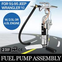 Pro Fit 1992 1993 Jeep Wrangler YJ Sending Unit Fuel Pump 20 gal tank Sale