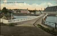 Portsmouth NH Navy Yard Bridge c1910 Postcard