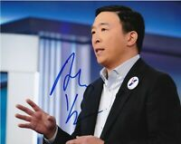 ANDREW YANG 2020 PRESIDENTIAL CANDIDATE SIGNED 8x10 PHOTO G MATH w/EXACT PROOF