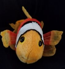Webkinz PLUSH ONLY : LIL KINZ  TOMATO CLOWNFISH  - JUST the PLUSH !!!!!!