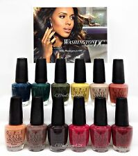 Nail Lacquer - Opi Washington Dc F/W 2016 - All 12 Shades Nlw53-W64