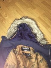 NEW ONeill Mens Frontline Rideable Down Ski Coat Winter Jacket,Large,Blue, NWT
