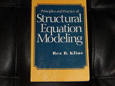 Principles and Practice of Structural Equation Modeling Free Shipping Rex Kline