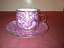 Vintage Elegant Chodziez Tea cup and Saucer Poland