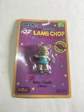 Bend-ems Shari Lewis Baby Lamb Chop & Friends Charlie Horse Figure NEW MIP 1993