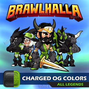 Brawlhalla - Charged OG Colors - All Platforms