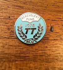 TT especial: 1978 T.T. benevolente Insignia