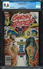 Ghost Rider #32 newsstand CGC 9.6 V2 Vol 2 1992 Doctor Strange app