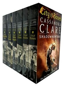 Cassandra Clare The Mortal Instruments series Collection 6 books set Young Adult
