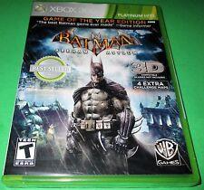 Batman: Arkham Asylum -- Game of the Year Edition Microsoft Xbox 360 *New!