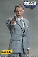 "1/6 Daniel Craig James Bond Action Figure Custom Outfits Full Set Black Box 12"""