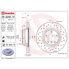 Bremsscheibe BREMBO XTRA LINE - Brembo 09.A259.1X