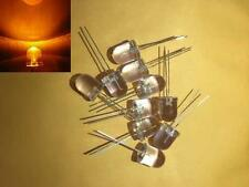 -- (50 pieces) 10mm Yellow blinking LED light diode flashing
