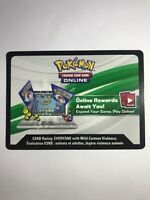 Pokemon Dragon Majesty Online Booster Code Card - sent through ebay message