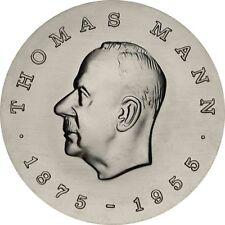 DDR 5 Mark Münze Thomas Mann 1975 Gedenkmünze Stempelglanz in Münzkapsel