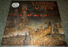CANNIBAL CORPSE-A SKELETAL DOMAIN-2014 LP-GREY/BLACK VINYL-LIMITED TO 500-NEW