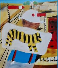 Sir Sidney Nolan, Flour Lumper, Dimboola 1943. Exhibition Poster.