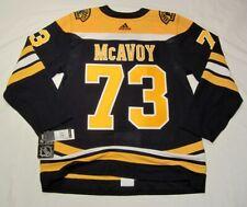 CHARLIE McAVOY size 52 = Large  Boston Bruins Aeroready Adidas NHL Hockey Jersey