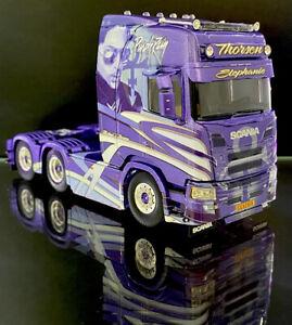 WSI TEKNO IMC CORGI TRUCKS 1:50 Scania Purple Rain