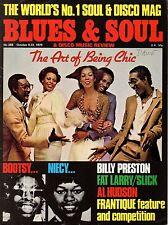 Chic Blues & Soul Magazine Issue 288  1979    Billy Preston    Deniece Williams