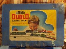 HORNBY 00 GAUGE DUBLO SILVER KING PASSENGER TRAIN SET WITH ORIGINAL BOX