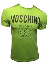 T Shirt Love Moschino Logo Peace Burgundy 3xl