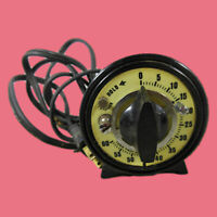 M.H. Rhodes, Inc. 60 Second Timer - PHOTOGRAPHIC DARKROOM ELECTRIC TIMER-Works