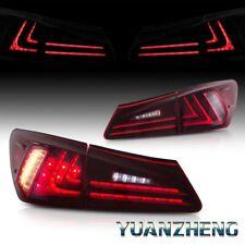 LED Rückleuchten For 2006-2012 Lexus IS250 IS200D IS350 ISF Heckleuchten Rot