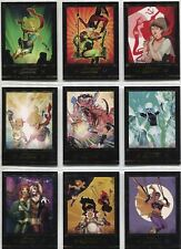 DC Comics Bombshells 2 Complete Gold Deco New Covers Chase Card Set C1-9