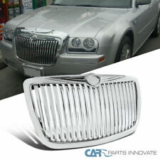 05-10 Chrysler 300 300C Replacement Front Chrome Vertical ABS Hood Grill Grille