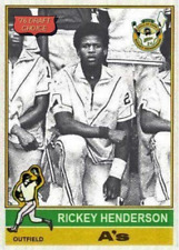*RICKEY HENDERSON 1976 DRAFT ACEO ART CARD ## BUY 5 GET 1 FREE ## COM SHIPPING