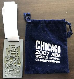 BOXING 2nd place Medal WORLD CHAMPIONSHIPS AIBA, 2007y. CHICAGO , USA !!